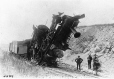 Collision between two engines, Bay of Quinte Railway, ON, 1892 (MP-0000.2265)