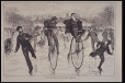 A Race on the Ice - Bicycles v. Skates (M975.62.72)