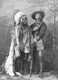 Sitting Bull and Buffalo Bill, Montreal, QC, 1885 (II-83124)