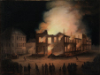 The Burning of the Parliament Building in Montreal (M11588)
