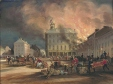 Burning of Hayes House, Dalhousie Square, Montreal. (M310)