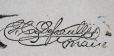 Signature of G. C. Dessaulles (M930.50.3.443)