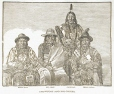 Crowfoot and his chiefs, about 1880 (M932.8.1.221)