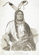 Poundmaker, The Cree Chief against whom Colonel Otter marched, about 1880 (M932.8.1.222)