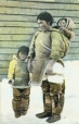 Inuit woman and children, Great Whale River, QC, about 1900 (MP-0000.638.5)