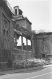 Side wall of St. Anne's Church during demolition, Point St. Charles, Montreal, QC, 1970 (MP-1978.186.2482)