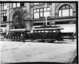 Electric trams, Ste. Catherine St., Montreal, QC, 1895 (II-111369)