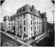 Montreal General Hospital, Dorchester Street, QC, about 1890 (VIEW-2548.1)