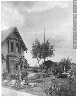 "II-23217.2 | William Notman's residence ""Rosebank"", Longueuil, QC, 1876 