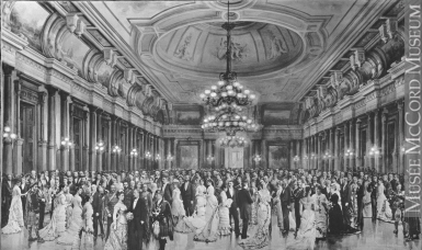 Photograph | St. Andrew's Society Ball, Windsor Hotel, Montreal, QC, 1878 | II-51688