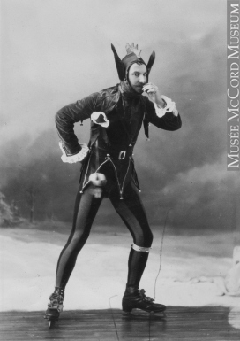 Photograph | Mr. Newby in skating party costume, Montreal, QC, 1881 | II-59868.1