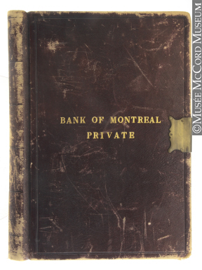 P007_A03.01.03 | Book of private information on Bank of Montreal customers | Ledger |